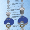 Thumbnail image for Quarter turn lock components and assembly