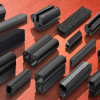 Thumbnail image for Window gaskets and sections in EPDM for sealing enclosure doors