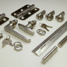 Thumbnail image for Stainless steel panel sets – quarter turns, cams, hinges, swinghandles, stays and bridgehandles