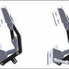Thumbnail image for New sprung and un-sprung concealed PINET hinges