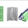 "Thumbnail image for PINET soft-close aluminium hinges prevent ""slam-shut"""