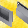 Thumbnail image for Panel Fittings has a handle on clip-in technology