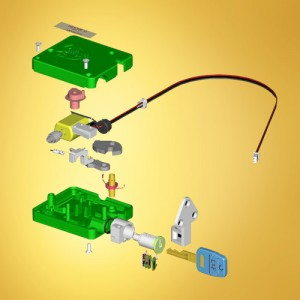 Electronic latch