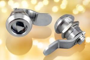 Diecast quarter-turn locks from FDB Panel Fittings