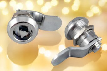 Diecast quarter-turn locks from FDB Panel Fittings