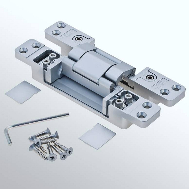 "High end ""€œinvisible""€ hinges with internal adjustment from FDB Panel Fittings"