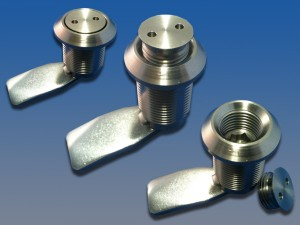 Vandal resistant pignose bung lock in stainless steel from FDB Panel Fittings