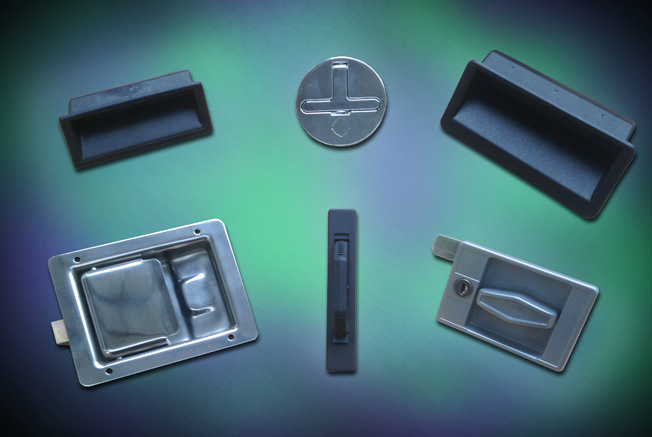 Recessed handles from FDB Panel Fittings for cabinets, cupboards,