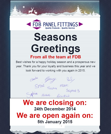 FDB Christmas Greetings