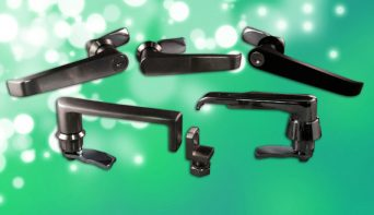 L handles for specialist cabinet manufacturers are now available ex-stock and online from FDB Panel Fittings