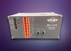 EFU15 multi-function RCD from FDB Electrical used for airfield power distribution