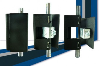 1110 quick-fit 120 degree hinge from FDB Panel Fittings for lay-on cabinet doors