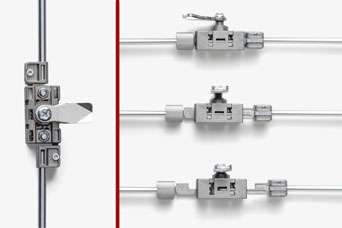 Multi-point compression lock system from FDB Panel Fittings