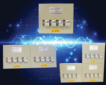 FDB2 multi-way RCBO with DC immune protection