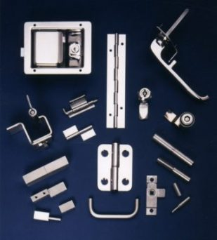FDB stainless steel panel hardware