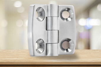 Dirak 7200 stainless steel hinges from FDB Panel Fittings