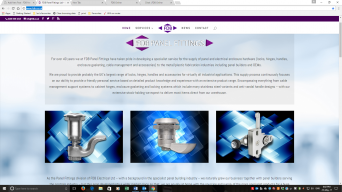 FDB Panel Fittings website screen shot