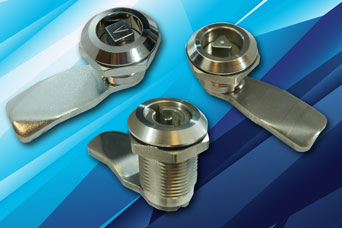 FDB Quarter turn insert key latches for specialist cabinets and enclosures