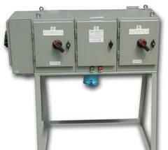 Free standing specialist power panel from FDB