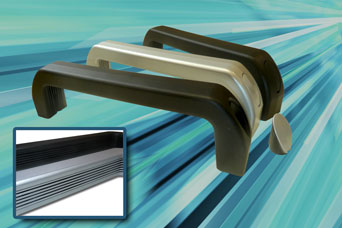 Extra-length bridge handles from FDB Panel Fittings
