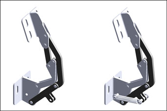 Concealed PINET hinges from FDB Panel Fittings