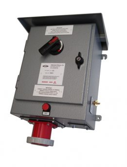 FDB 27/M outdoor RCD power protection unit