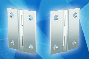 PINET aluminium hinges from FDB Panel Fittings