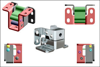 PINET corrosion resistant hinges from FDB