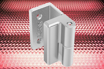 New stainless steel hinge from DIRAK and FDB Panel Fittings