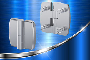 New Vandal-resistant 180° stainless steel hinge from FDB Panel Fittings