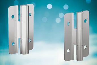 Pinet stainless steel friction hinges from FDB Panel Fittings