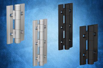 New Pinet aluminium profile hinges from FDB Panel Fittings