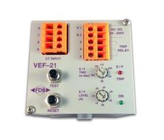 FDB VEF21 variable earth leakage protection relay