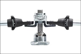Height adjustable locking system