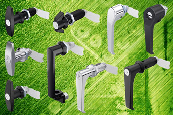 FDB L and T handles for electrical and electronic cabinets and enclosures