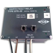 EFR-52 earth fault relay